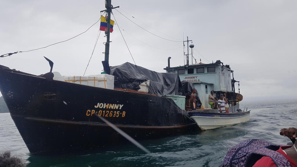 Kolumbien 🇨🇴 Mit dem Boot auf dem Pazifik